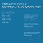 Gamification in employee selection: The development of a gamified assessment | The International Journal of Selection and Assessment